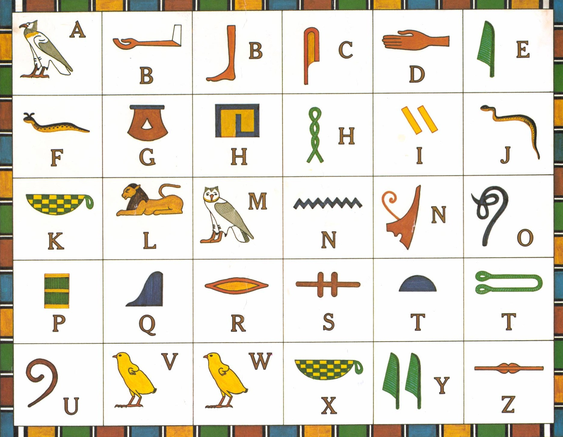 ancient egypt writing facts