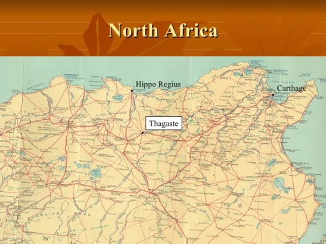 Map Of Tagaste North Africa A small study of the region of Ancient Northern Africa and a brief