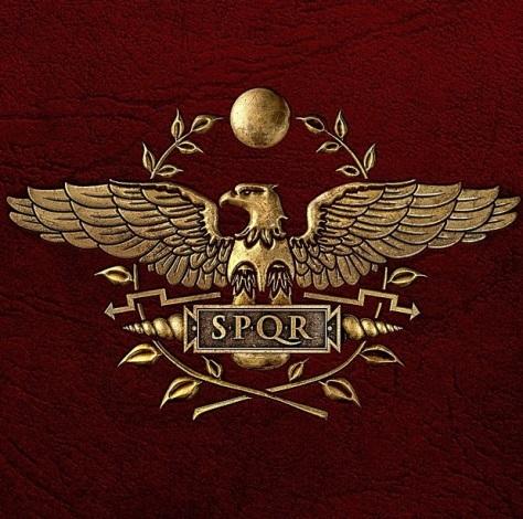 SPQR Official Logo for Ancient Civilizations and Theocracies